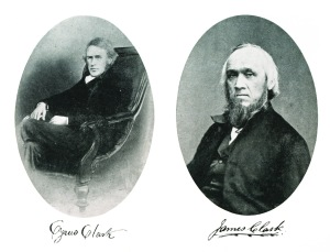 Cyrus and James Clark