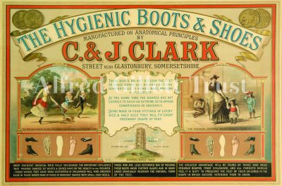 Clarks Hygienic Boots and Shoes, 1880s