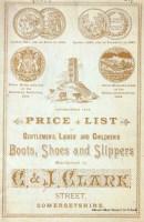 Shoe catalogue, C & J Clark, 1891