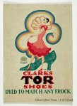 Clarks Tor shoes, Freda Beard, 1928
