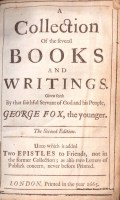 A collection of the several books and writings..., George Fox, London, 1665